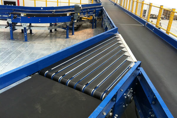 Narrow Belt Merge Conveyors