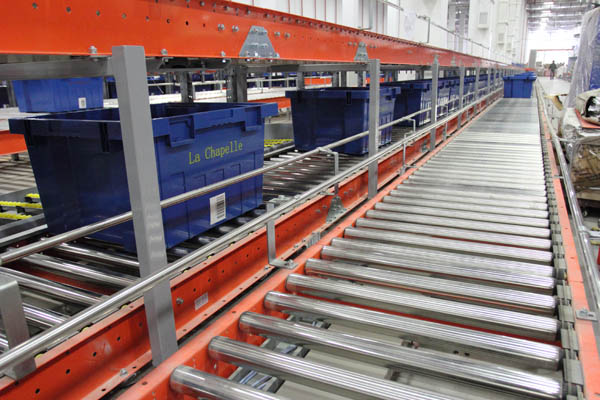 Poly Vee Driven Roller Conveyors