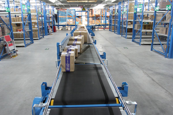 Belt Driven Skewed Roller Conveyors