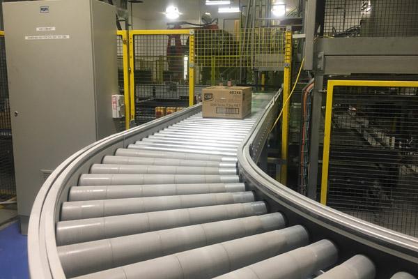 Tangential Driven Roller Conveyors