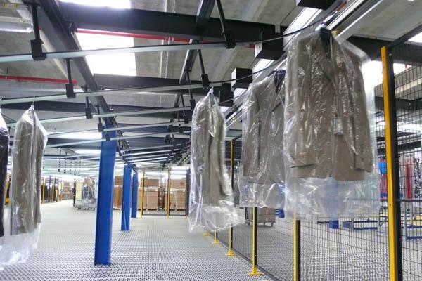 Overhead Conveyors & Sorter Systems