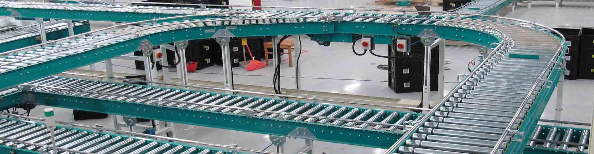 Lineshaft Driven Conveyors