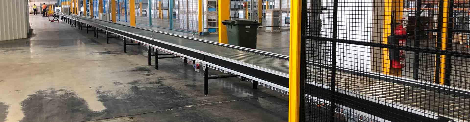 Tangential Driven Roller Conveyors