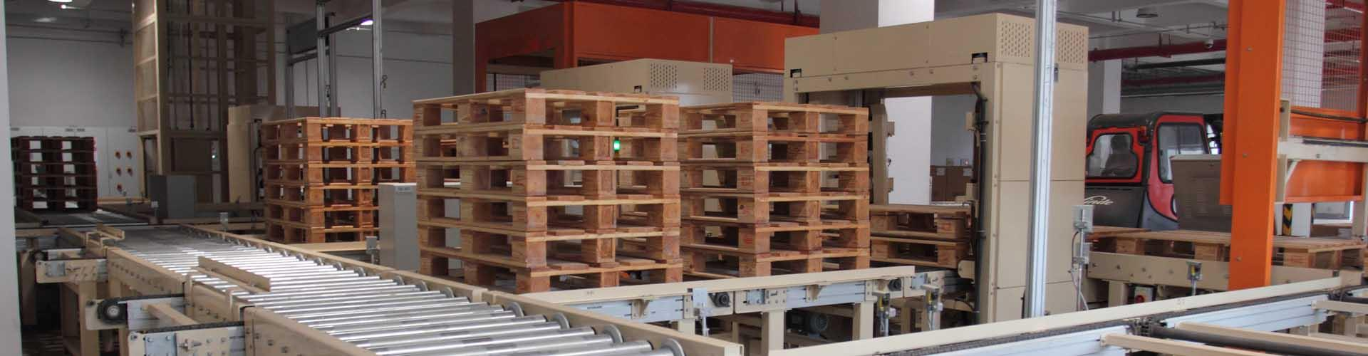 Pallet Stackers & Dispensers