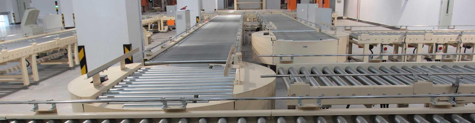 Pallet Conveyor Turntables