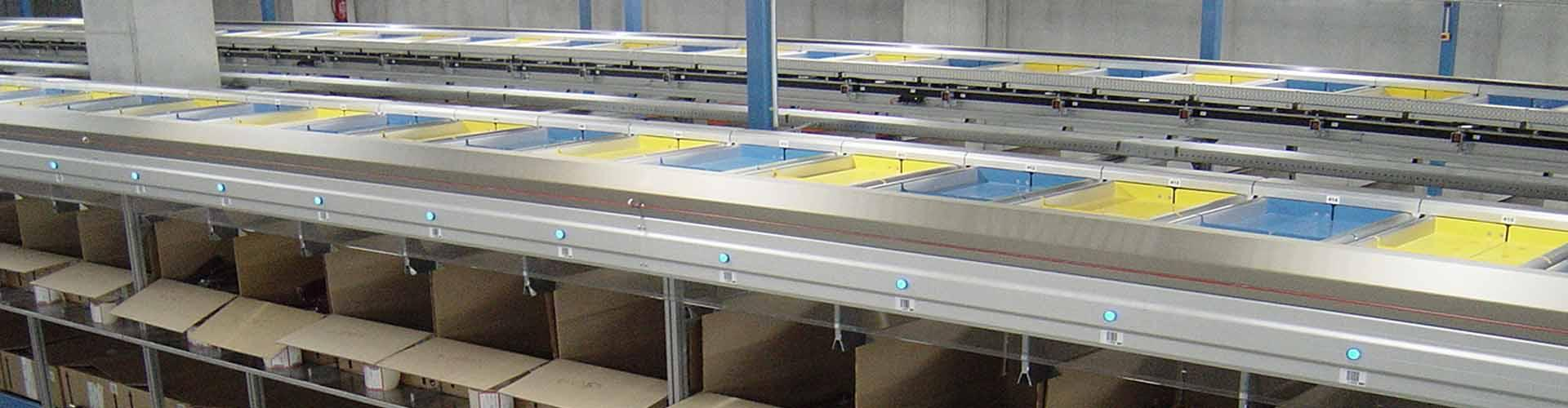 Eurosort Split Tray Sorter